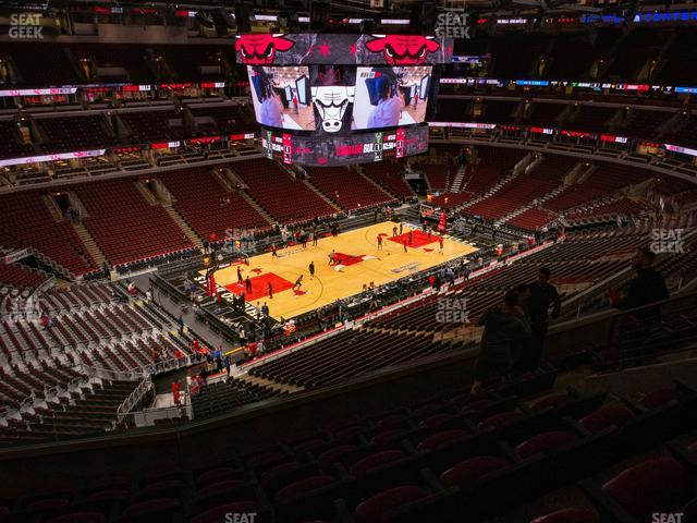 United Center Section 304 view