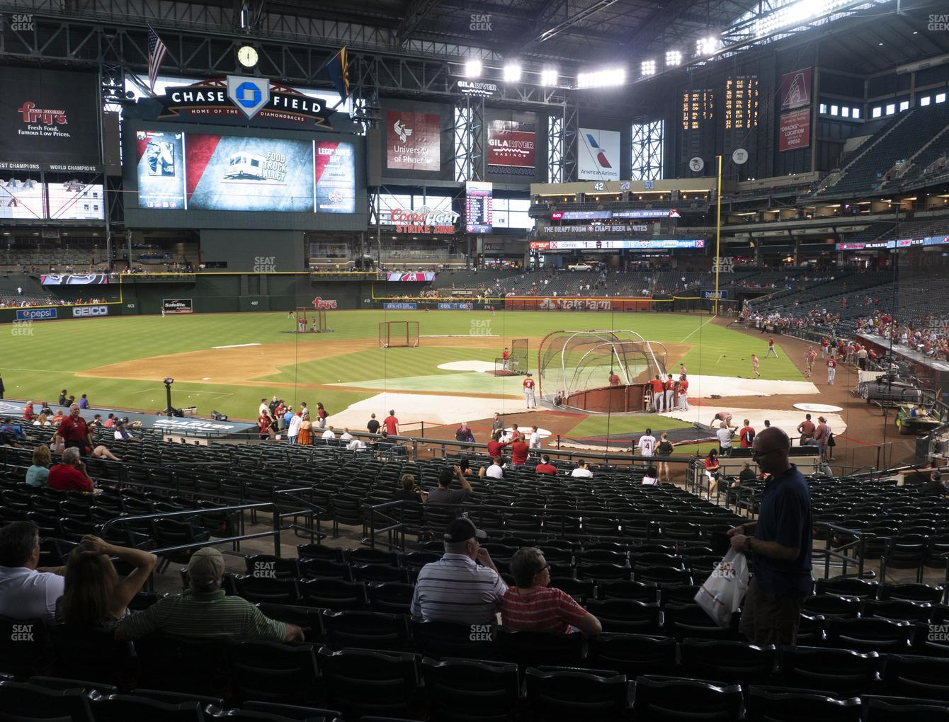 MLB at Chase Field Section 125 View