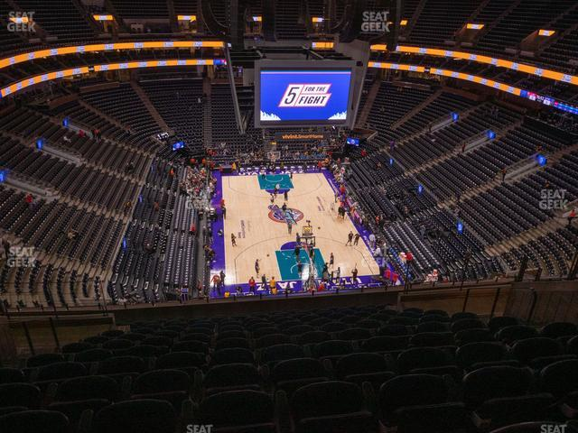Vivint Smart Home Arena Section 123 view