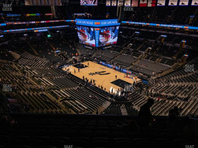 AT&T Center Section 220 view