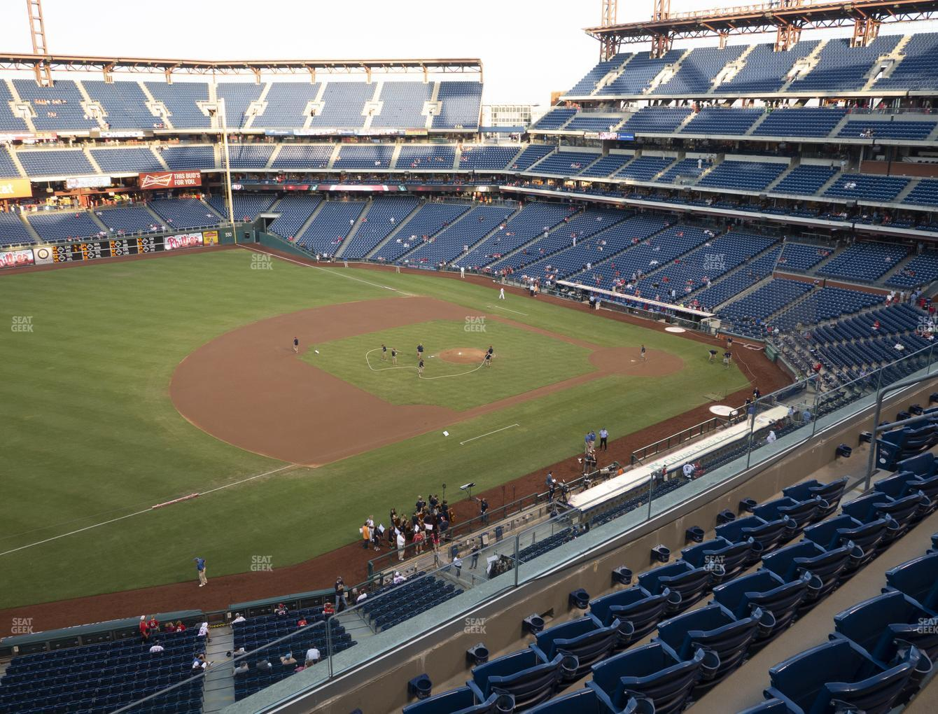 Philadelphia Phillies at Citizens Bank Park Section 329 View