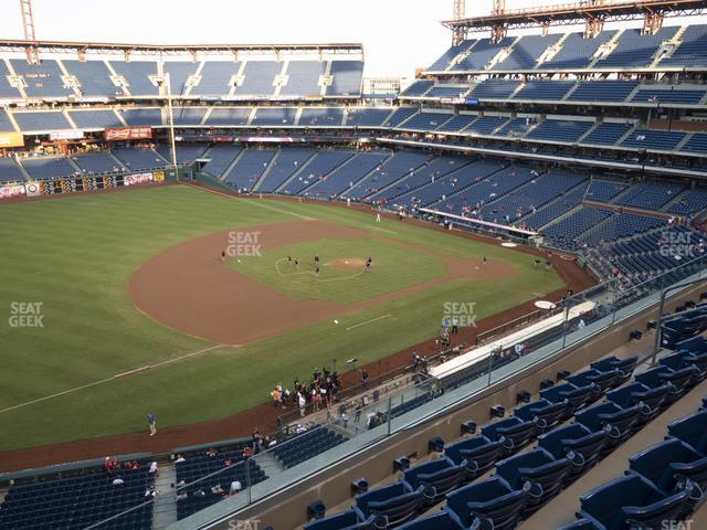 Citizens Bank Park Section 329 view