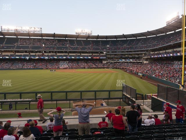 Angel Stadium of Anaheim Section 259 view