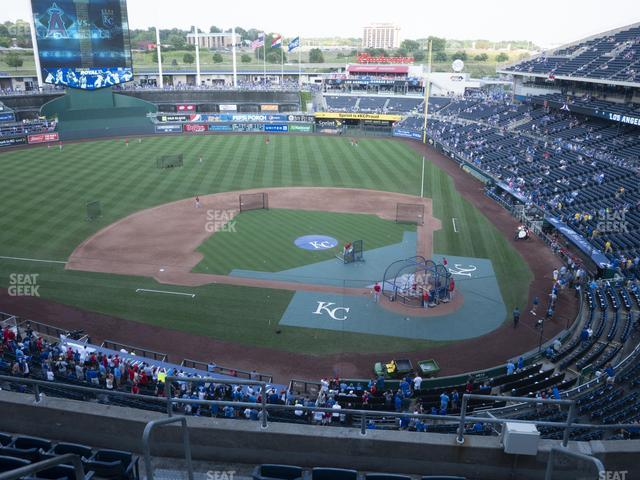 Kauffman Stadium Section 414 view