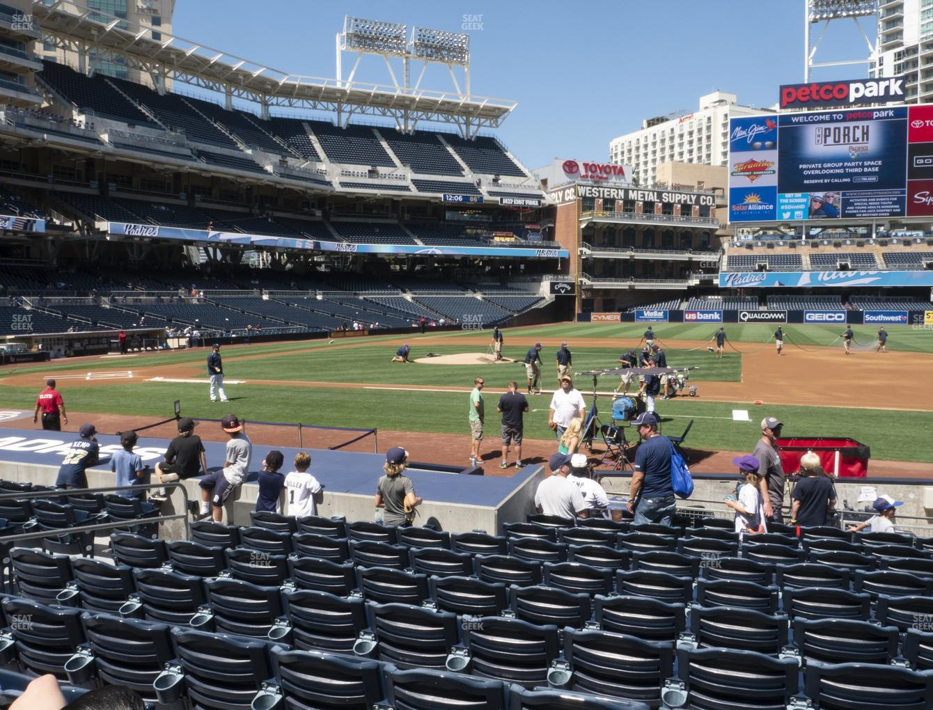 MLB at Petco Park Section 109 View