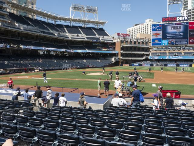 Petco Park Section 109 view