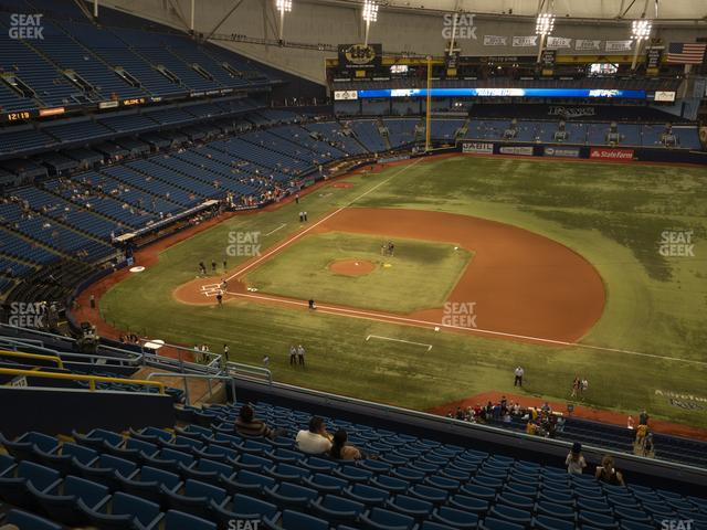 Tropicana Field Section 314 view