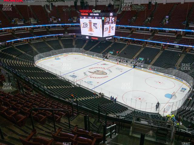 Honda Center Section 429 view