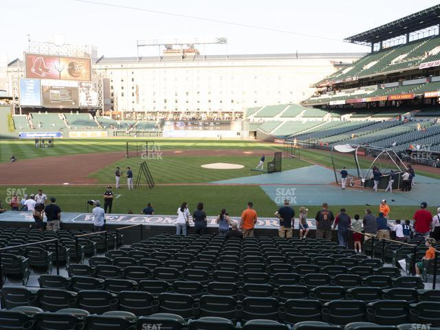 Oriole Park at Camden Yards Section 50 view