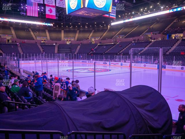 Nassau Veterans Memorial Coliseum Section 14 view