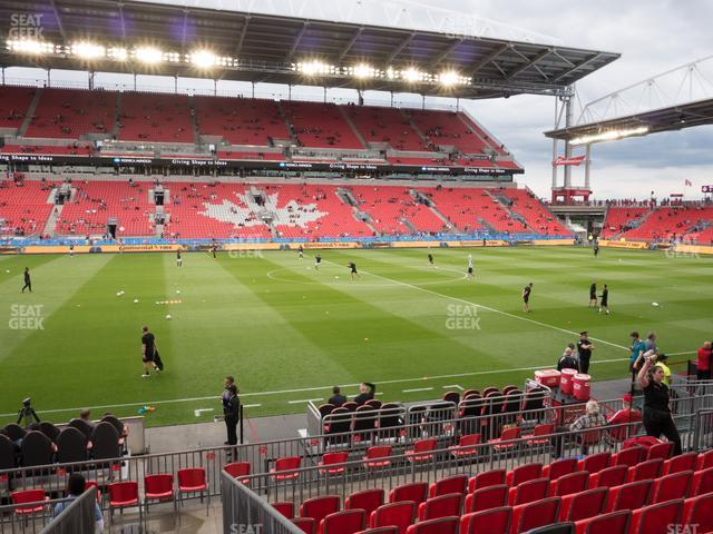 BMO Field Section 124 view