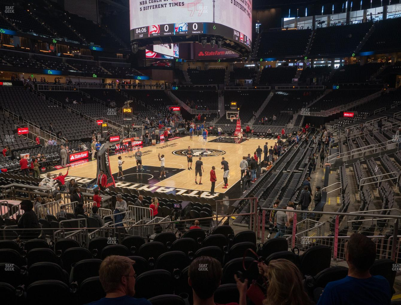 State Farm Arena Section 112 Seat Views Seatgeek