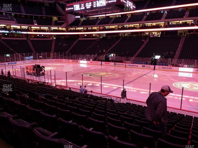 Xcel Energy Center Section 102 view