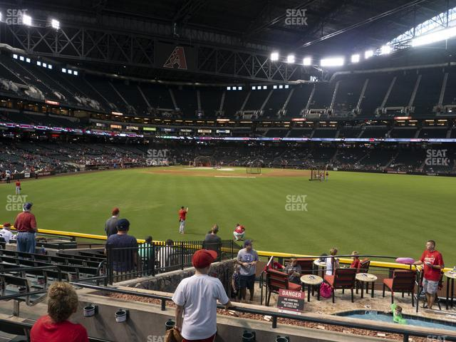 Chase Field Section 101 view