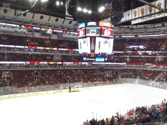 United Center Section 203 view