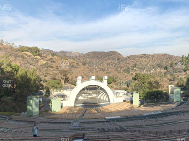 Hollywood Bowl Section X 2 view