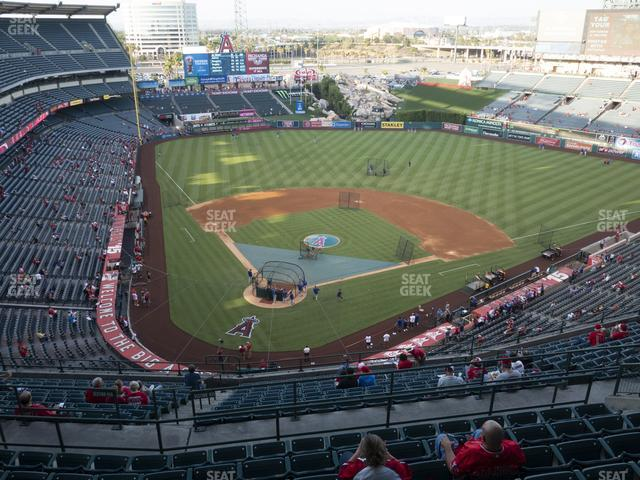 Angel Stadium of Anaheim Section 523 view