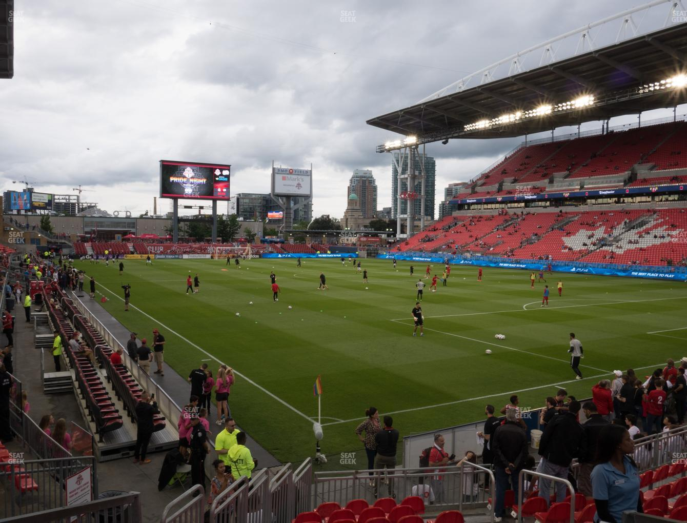 Concert at BMO Field Section 118 View