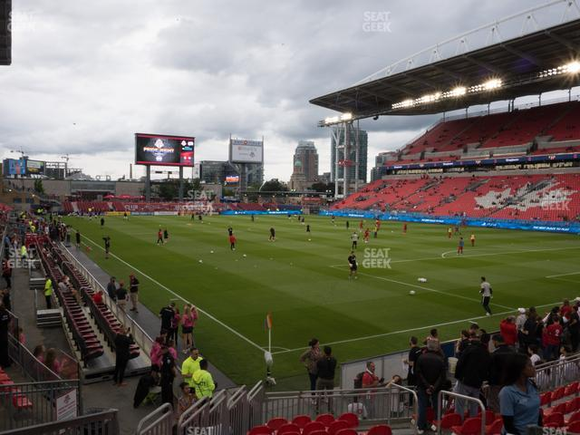 BMO Field Section 118 view