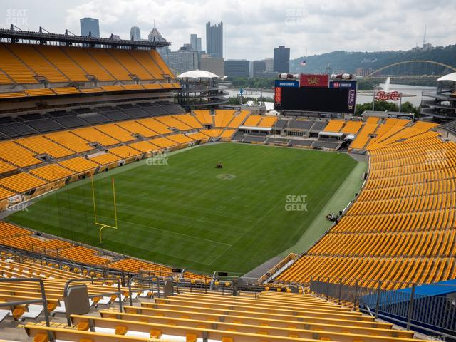 Heinz Field Section 527 view