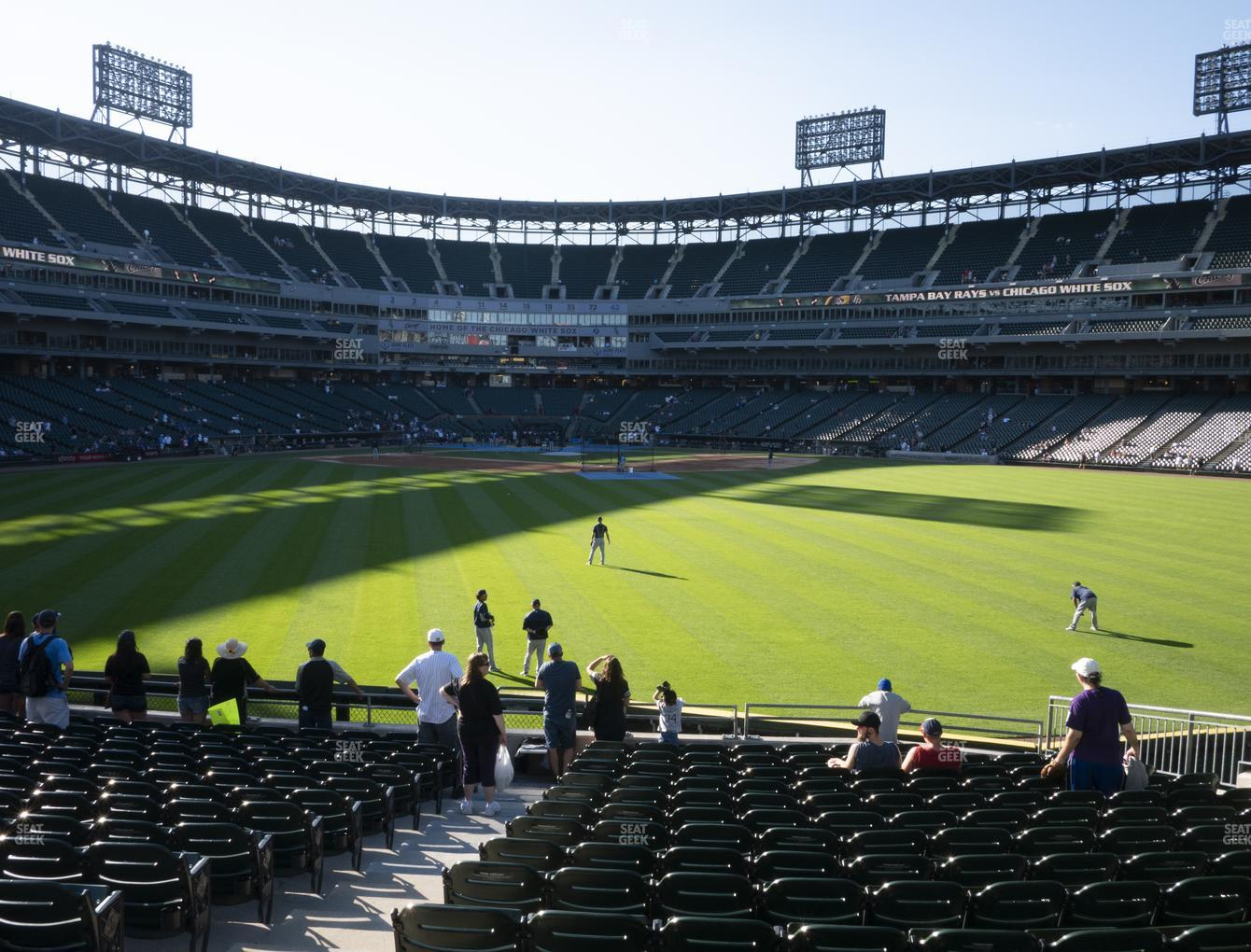Chicago White Sox at Guaranteed Rate Field Section 100 View