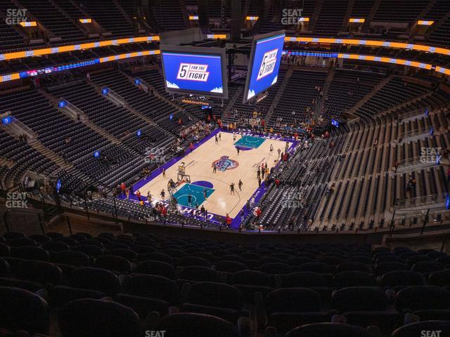 Vivint Smart Home Arena Section 119 view