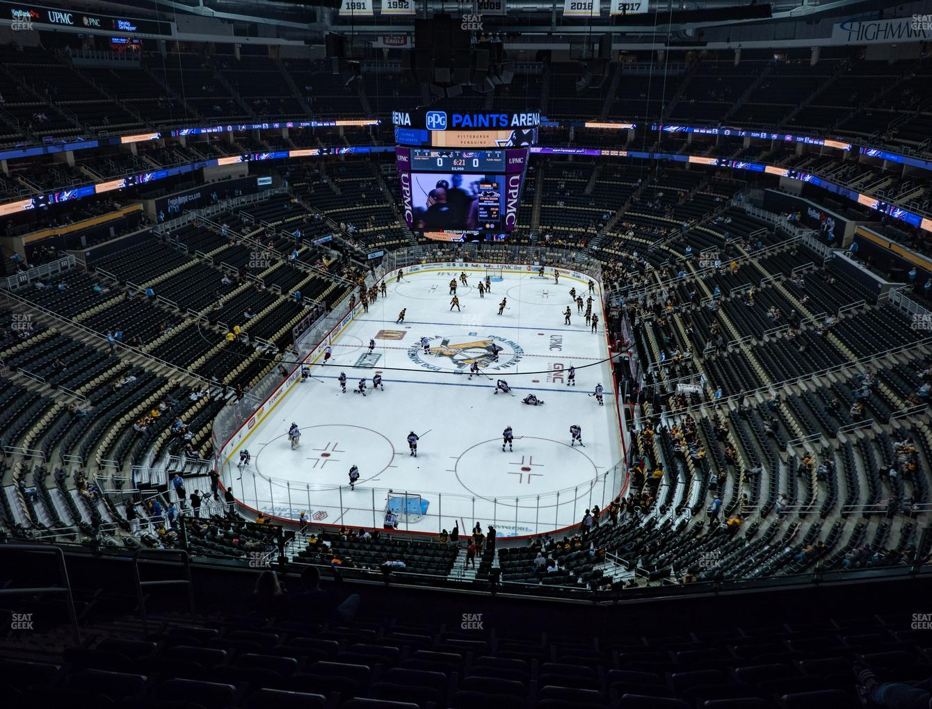 Ppg Paints Arena Section 210 Seat Views