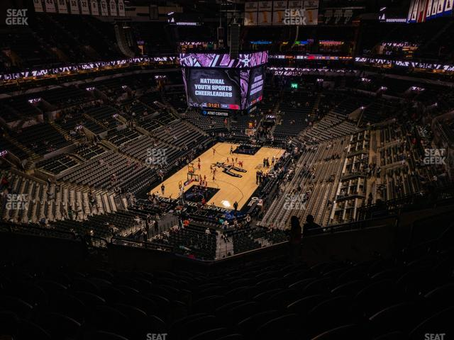 AT&T Center Section 214 view