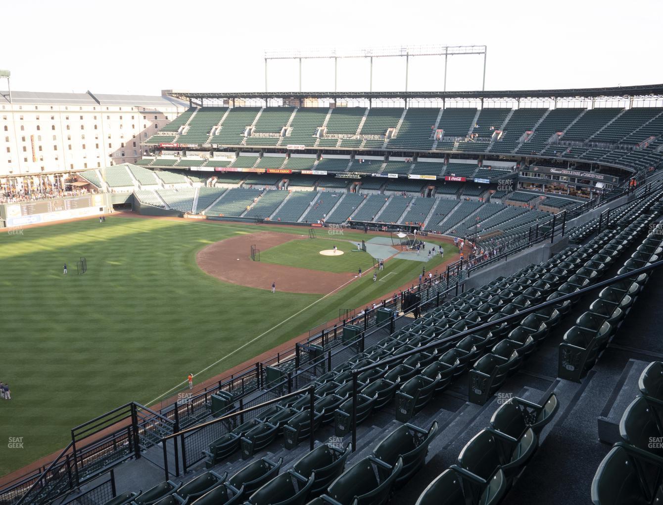 Baltimore Orioles at Oriole Park at Camden Yards Section 370 View