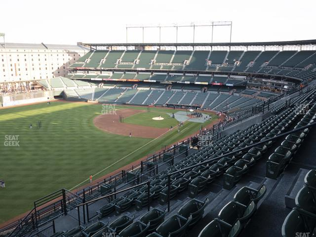 Oriole Park at Camden Yards Section 370 view
