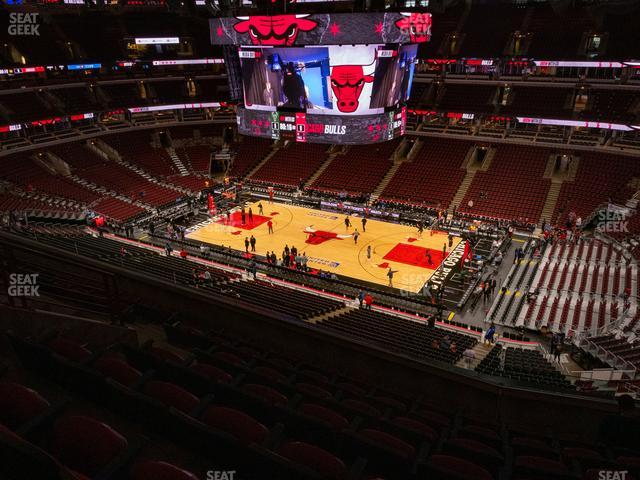 United Center Section 315 view