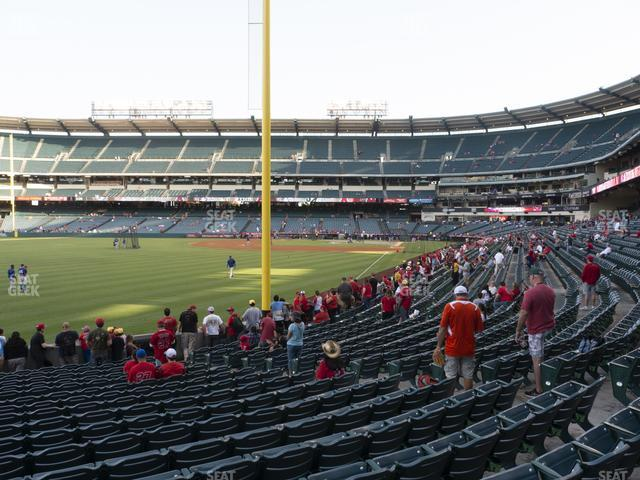 Angel Stadium of Anaheim Section 103 view