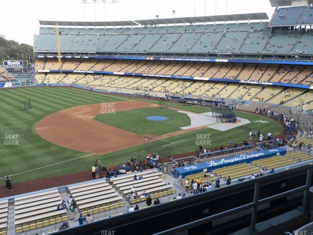 Dodger Stadium Suite 204 view