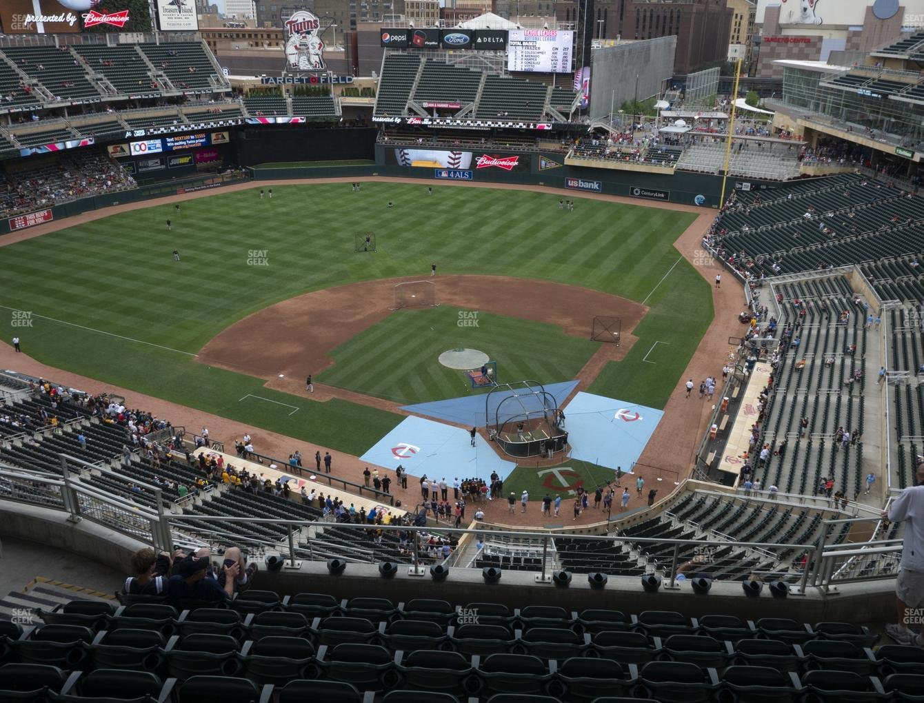 Minnesota Twins at Target Field Section 317 View