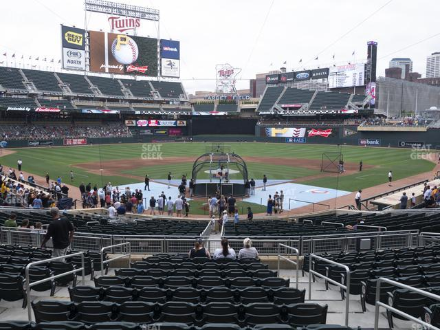 Target Field Section 114 view
