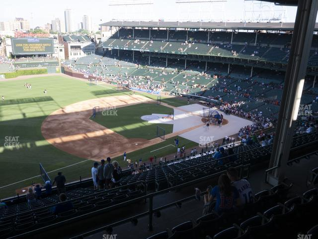 Wrigley Field Section 407 Left view