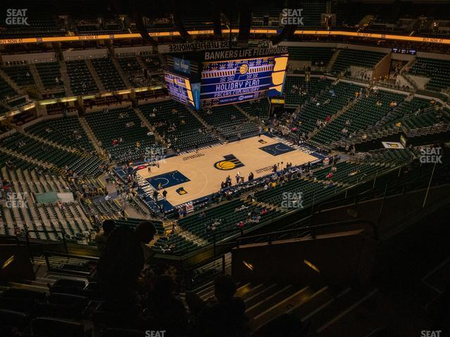 Bankers Life Fieldhouse Section 211 view