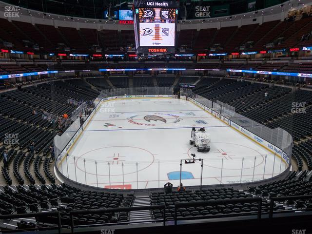 Honda Center Section 301 view