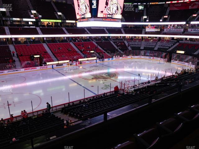 Canadian Tire Centre Section 224 view