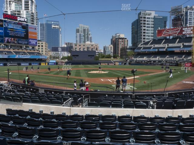 Petco Park Section 102 view