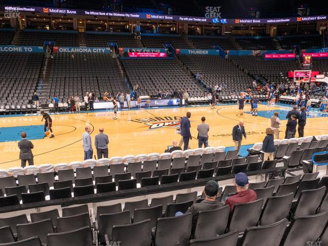 Chesapeake Energy Arena Section 106 view