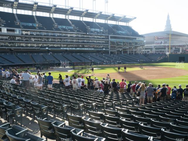 Progressive Field Section 134 view