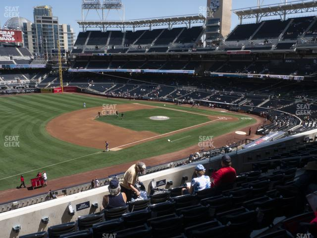 Petco Park Section 216 view