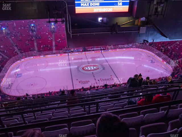 Bell Centre Section 420 view