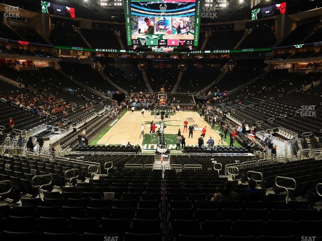Fiserv Forum Section 101 view