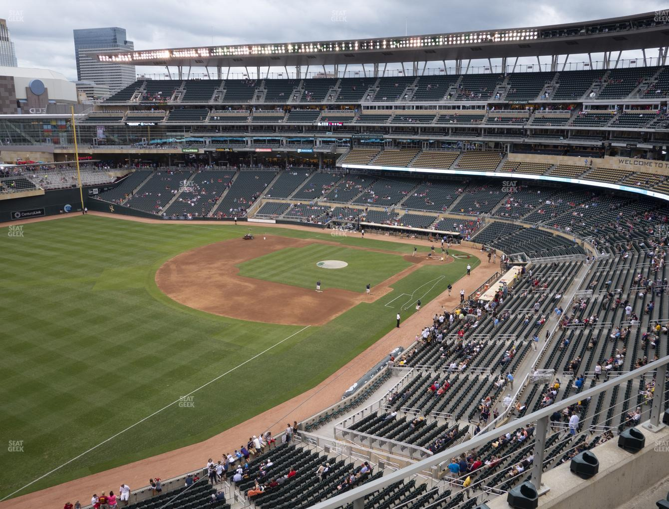 Minnesota Twins at Target Field Section 227 View