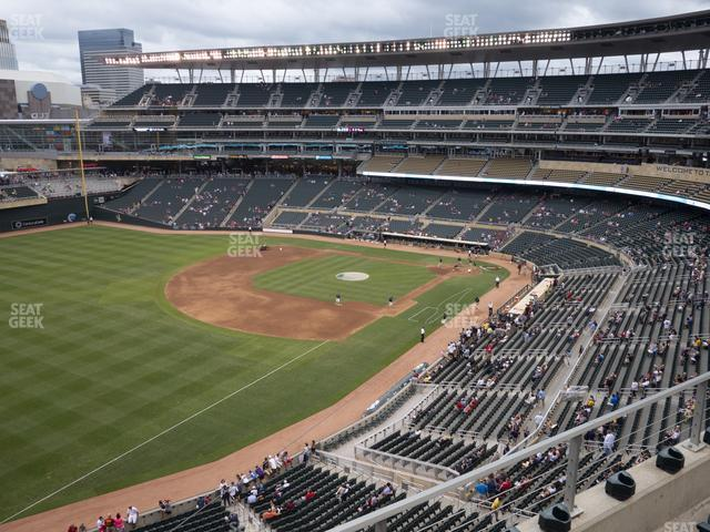 Target Field Section 227 view