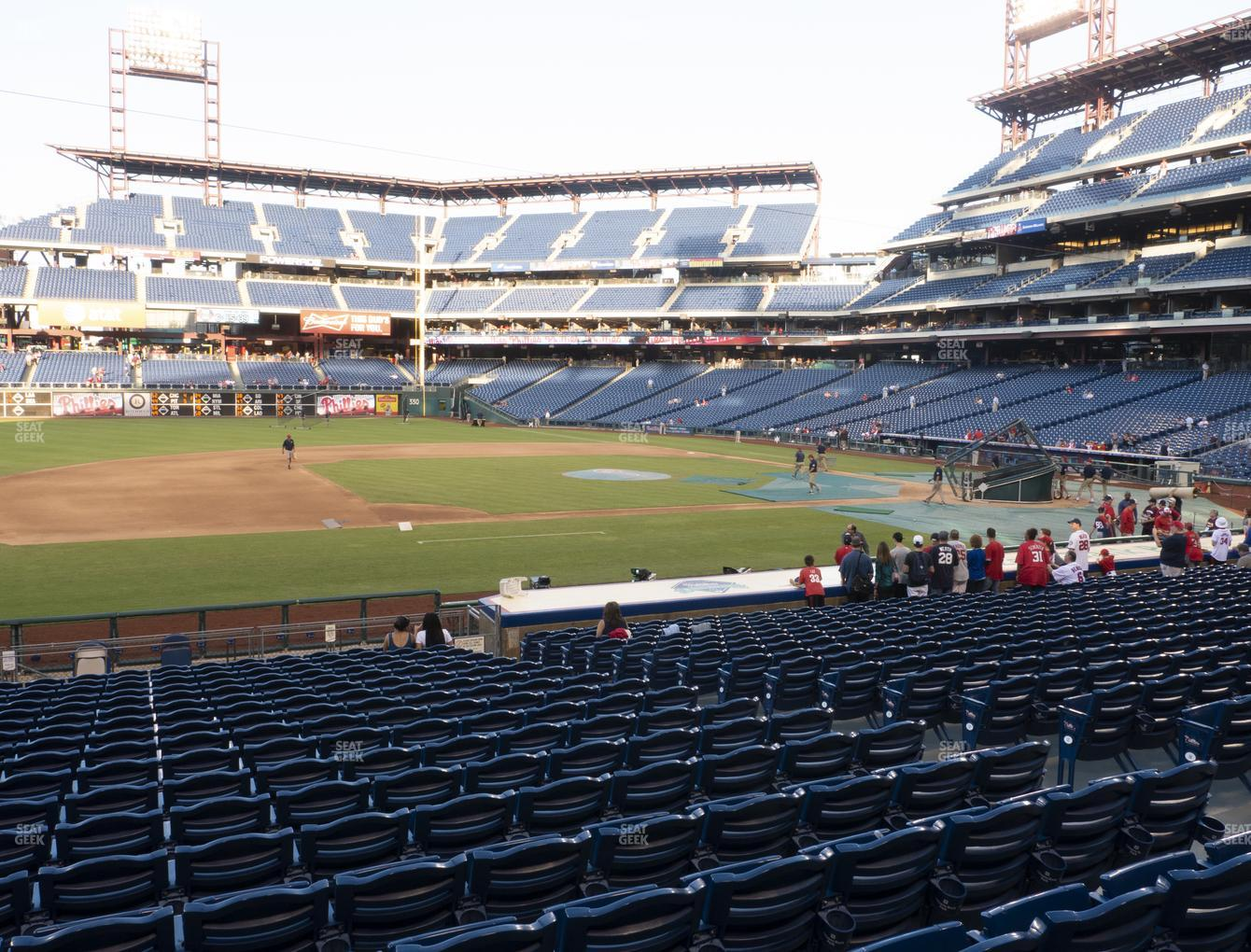 Philadelphia Phillies at Citizens Bank Park Section 132 View