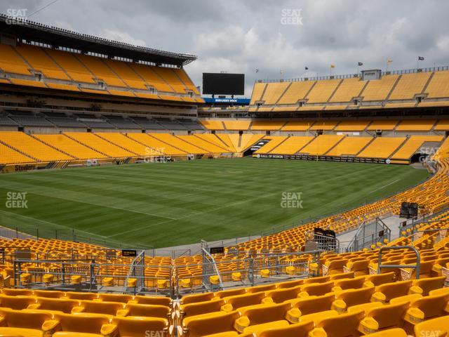 Heinz Field Section 104 view