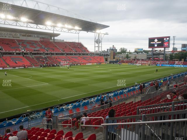 BMO Field Section 111 view